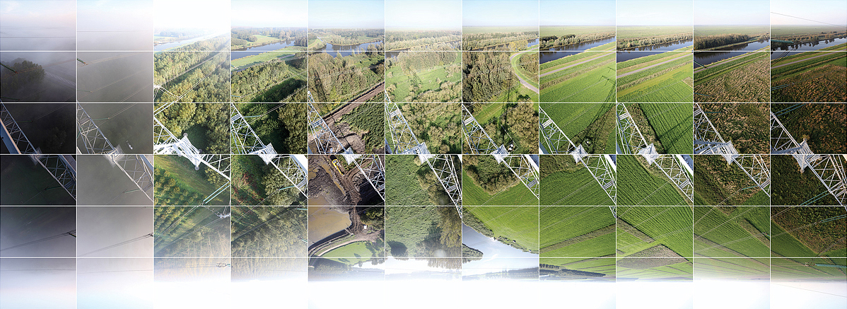 image, picture, space, time, line, timespace, oostvaarders plassen, almere, flevoland, panorama, photography